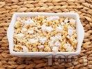 Рецепта Варено жито за помен с орехи и локум